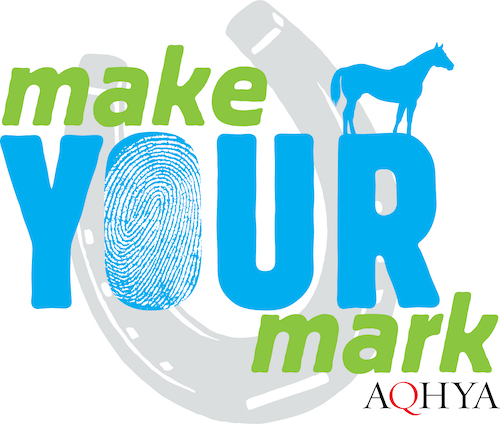 2021 AQHYA theme logo Make Your Mark