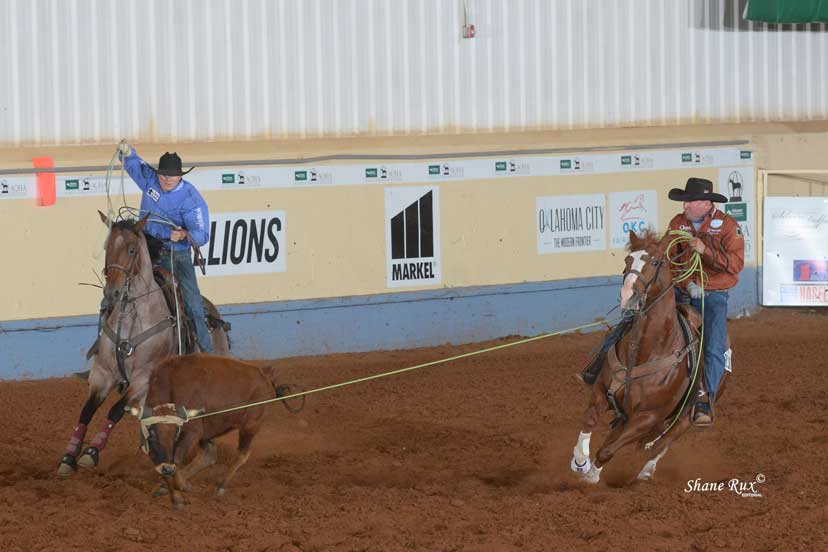 ranching heritage challenge open team roping